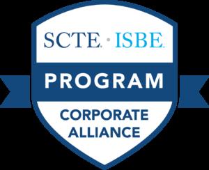 SCTE ISBE Corporate Alliance Program Badge for America Ilsintech