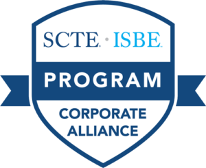 SCTE ISBE Corporate Alliance Program Badge for America Ilsintech