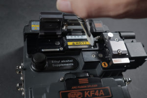 Clean the Thermal Stripper on your fusion splicer